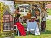Der Heimatverein Darme auf dem mittelalterlichen Markt in Meppen