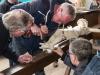 Aufstellen des Hezforder Kreuzes