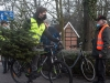 Weihnachtsbaum-Abholaktion 2021 vom Bulldog-Treckerclub