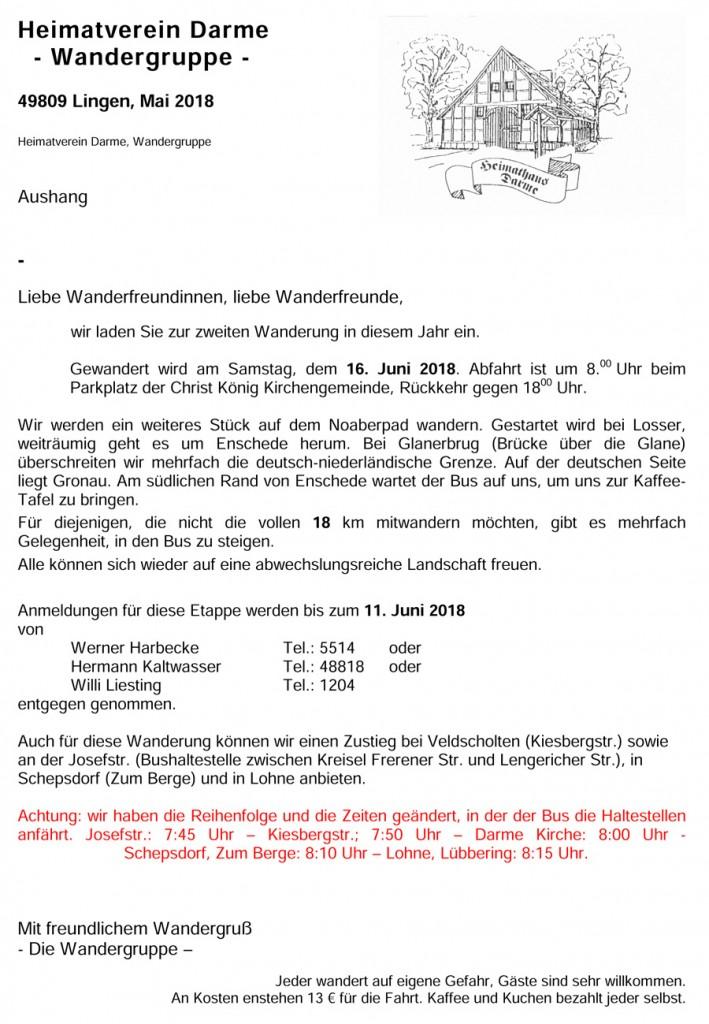 Einladung Aushang Mai 2018